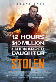 """Plakat for filmen """"Stolen"""""""
