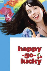 "Plakat for filmen ""Happy-Go-Lucky"""