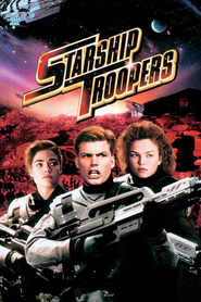 "Plakat for filmen ""Starship Troopers"""