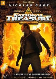 """Plakat for filmen """"National Treasure"""""""
