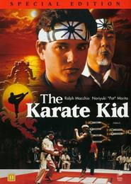 """Plakat for filmen """"Karate Kid"""""""