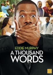"""Plakat for filmen """"A Thousand Words"""""""