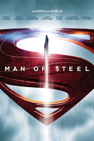 "Plakat for filmen ""Man of Steel"""