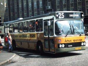 Min barndoms bus: Århus Sporveje linje 25