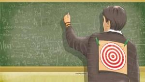 mobning af lærer