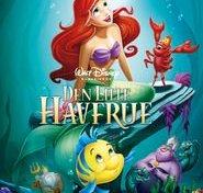 """Plakat for filmen """"Den lille havfrue"""""""