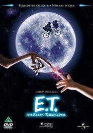 """Plakat for filmen """"E.T. the Extra-Terrestrial"""""""