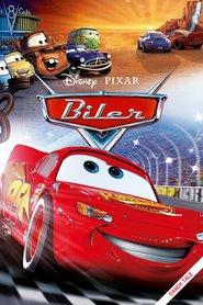 """Plakat for filmen """"Biler"""""""