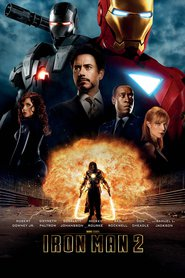 "Plakat for filmen ""Iron Man 2"""