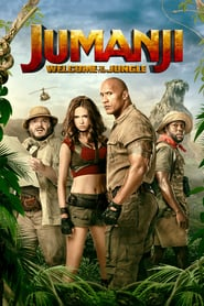 "Plakat for filmen ""Jumanji: Welcome to the Jungle"""