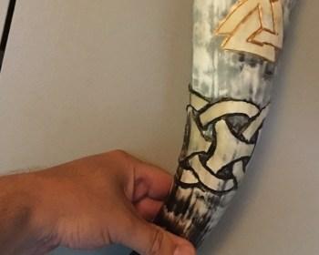 Fenjas horn, min ældste datters drikehorn