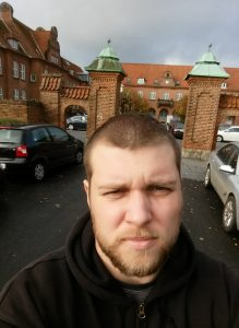 Outside Herning Centralsygehus, the psykiatric ward