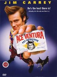 """Plakat for filmen """"Ace Ventura: Detektiv"""""""