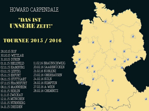 Howard Carpendale Tournee 2015
