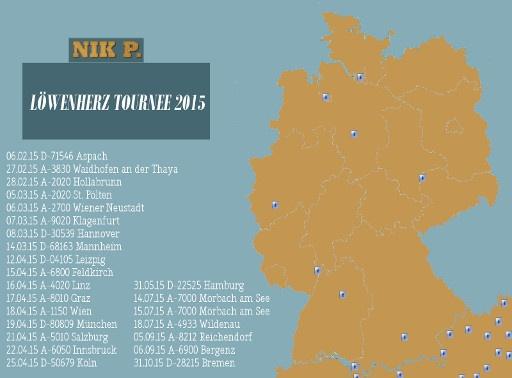 Nik P. Löwenherz Tournee