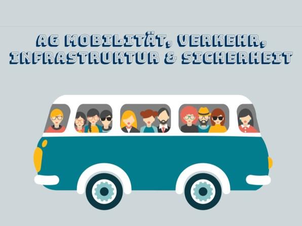 AG Mobilität, Verkehr, Infrastruktur & Sicherheit