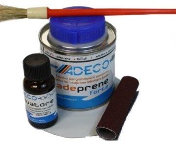 2 Komponenten Reparaturset für Schlauchboote aus Neopren Hypalon Synotex oder ähnlichem Material -