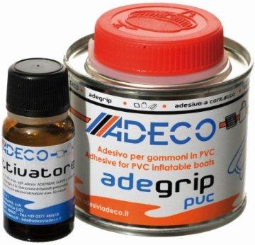 Adeco Adegrip Schlauchboot Kleber 2-komponentig für PVC 135g -