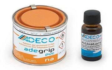 Adeco Schlauchbootkleber-Set PVC -