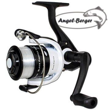 Angel Berger Angelset Allround mit Zubehör und Sportfischer Passhülle Anfängerset komplett -