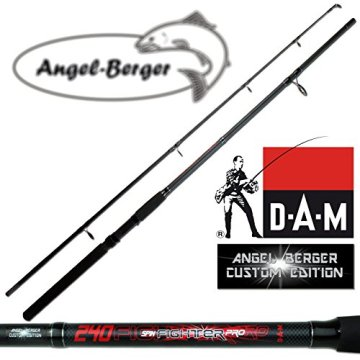 DAM Spinnrute Steckrute Angel Berger Custom Edition in verschiedenen Längen (2.70m) -