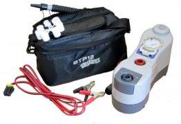 Elektrische Luftpumpe BRAVO BTP 12 Manometer -