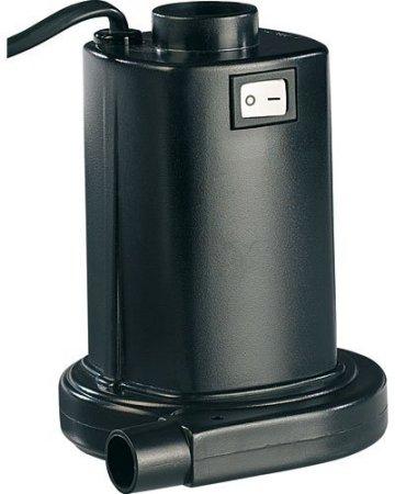 Elektrische Luftpumpe 'Infactory ' für schnelles Auf- & Abpumpen -