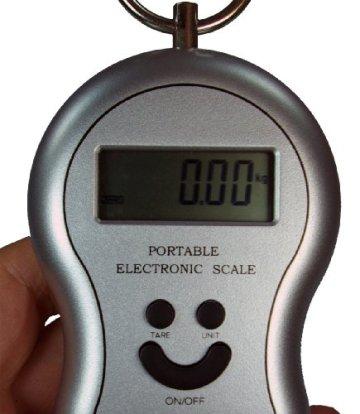 Elektronische Hängewaage bis 40 Kg -