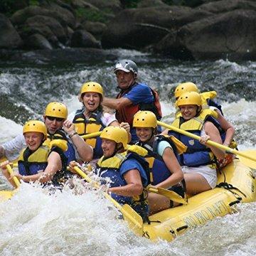 Erlebnisgutschein: Rafting - für Einsteiger in Sitten (45 Minuten) | meventi Geschenkidee -