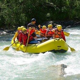 Erlebnisgutschein: Rafting - Schlauchboot Tour mit Bogenschießen in Bodenmais | meventi Geschenkidee -