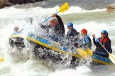 Geschenkgutschein: Einsteiger-Rafting-Tour im Allgäu für 2 -