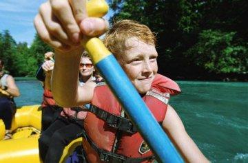 Geschenkgutschein: Rafting für Kinder im ötztal -