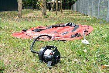 infactory elektrische Luftpumpe für schnelles Auf- und Abpumpen, 680 W -