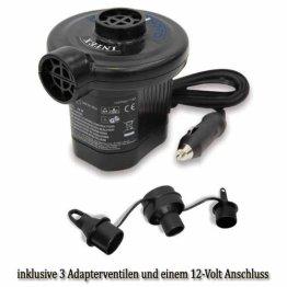 INTEX elektr Pumpe Luftpumpe 12 Volt 3 Ventile 66626 -