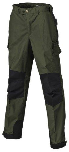 Pinewood Unisex Outdoorhose Lappland, dunkelgrün/schwarz, 50 EU -