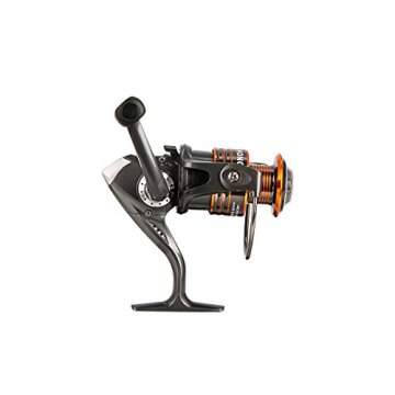 Plusinno® Spin Spinnrute und Spinnrolle Combo Kohle teleskopartiges Angelrute mit Rolle Combo Meer Salzwasser Süßwasser Kit Angelrute Kit (3.0M 9.84Ft) -