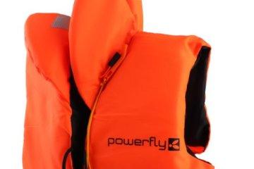 Powerfly Kajak Schwimmweste Schwimmhilfe Rettungsweste - Unisex M/L/XL -