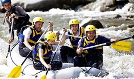 Rafting - Einsteigertour in Isar -