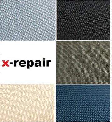 repair patch selbstklebender Reparatur Aufkleber Nylon Flicken für Zelte, Rucksack, Markisen, Schlauchboot, Luftmatratze viele Farben verschieden Größen (schwarz, 70 x 70 (jeweils 2 Stück)) -