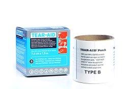 Tear-Aid Typ B Reparaturset Rolle Vinyl PVC Flicken Reparatur - elastischer Flicken -