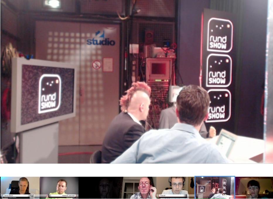 Rundshow BR Hangout Hannes Schleeh