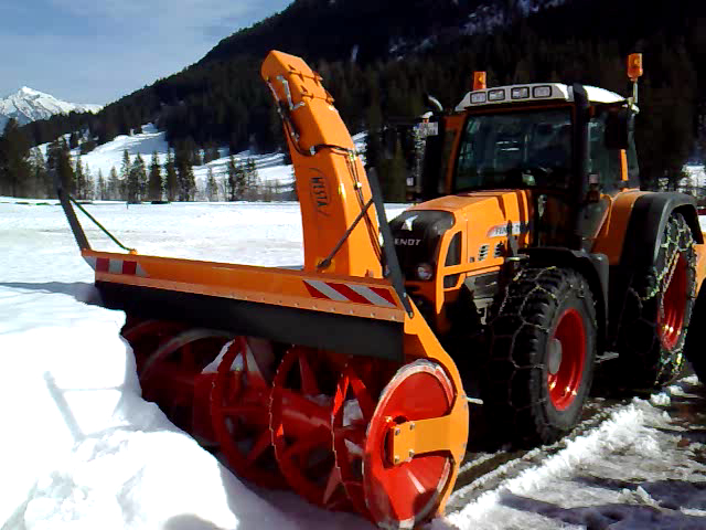 Schneefräse im Winterdienst
