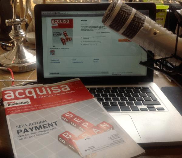 acquisa im bloggercamp.tv Update