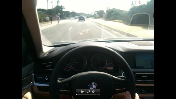 Headup Display 5er BMW