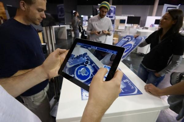 Augmented Reality Anwendung auf der InsideAR