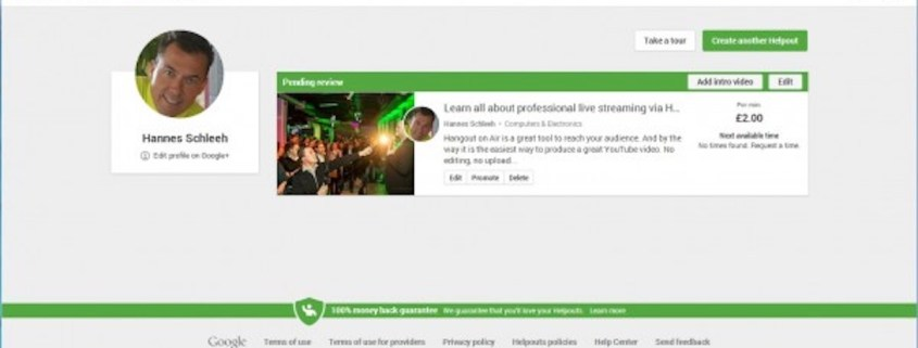 Google Helpouts am 4.11.2013 gestartet