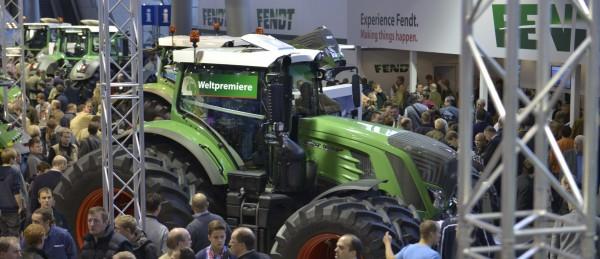 AGRITECHNICA Messestand von Fendt Foto: Tobias Hoops
