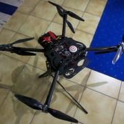 Multikopter mit acht Motoren Foto: Schleeh