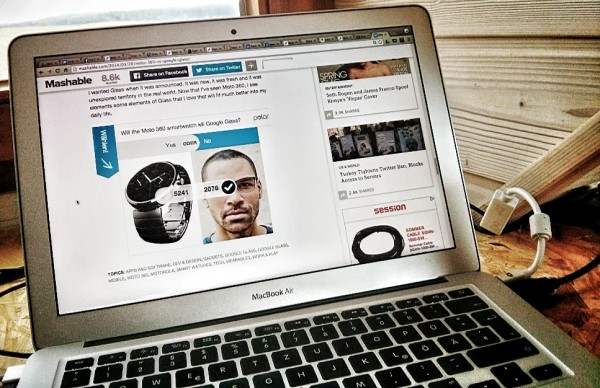 Screenshot Mashable Foto Hannes Schleeh