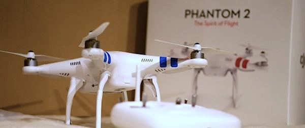 DJI Phantom 2 die Livedrohne für Hangout on Air